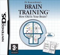 Dr. Kawashima's Brain Training: How Old Is Your Brain? Box Art