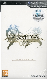 Dissidia 012: Duodecim Final Fantasy (Legacy Edition) Box Art