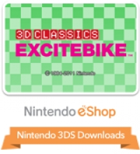 3D Classics: Excitebike Box Art