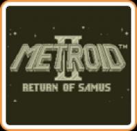 Metroid II: Return of Samus Box Art