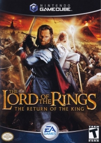 Lord of the Rings, The: The Return of the King Box Art