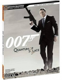 007: Quantum of Solace - BradyGames Official Strategy Guide Box Art
