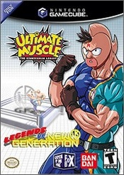 Ultimate Muscle: Legends vs New Generation Box Art