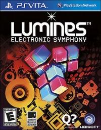 Lumines: Electronic Symphony Box Art