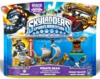 Pirate Seas Adventure Pack - Skylanders: Spyro's Adventure [NA] Box Art