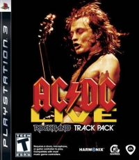 AC/DC Live: Rock Band Track Pack Box Art
