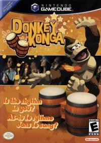 Donkey Konga Box Art