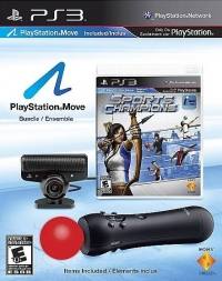 Sony PlayStation Move Bundle - Sports Champions Box Art