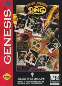 Boxing Legends of The Ring Box Art