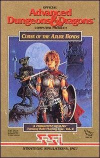 Advanced Dungeons & Dragons: Curse of the Azure Bonds Box Art