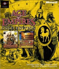 Age of Empires: Gold Edition Box Art
