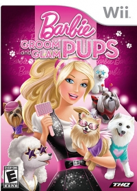 Barbie: Groom and Glam Pups Box Art