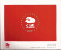 2010 Club Nintendo Gold Member Reward - 2011 Calendar Box Art