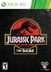 Jurassic Park: The Game Box Art