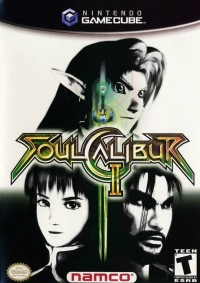 SoulCalibur II Box Art