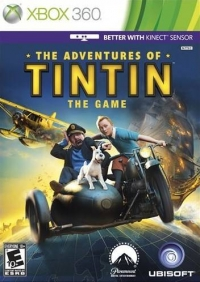 Adventures of Tintin, The: Game, The Box Art