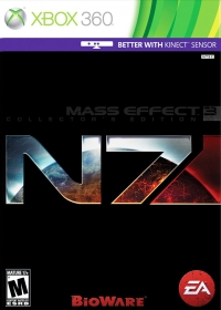 Mass Effect 3 - N7 Collector's Edition Box Art