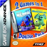 2 Games in 1 Double Pack: Finding Nemo / Monsters, Inc. Box Art