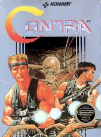 Contra (oval seal) Box Art