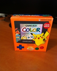 Nintendo Game Boy Color - Pokémon 3rd Anniversary [JP] Box Art