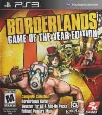 Borderlands - Game of the Year Edition (Voucher) Box Art