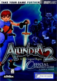 Alundra 2: A New Legend Begins - Official Strategy Guide Box Art