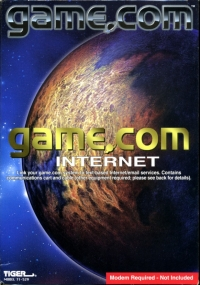 Game.Com Internet Box Art