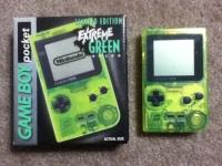 Nintendo Game Boy Pocket - Extreme Green [NA] Box Art