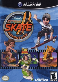 Disney's Extreme Skate Adventure Box Art