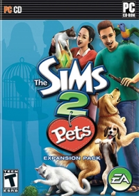 Sims 2, The: Pets Box Art