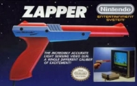 Nintendo Entertainment System Zapper - Orange [NA] Box Art
