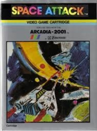 Space Attack Box Art