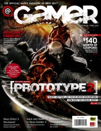 @ Gamer - Issue 018 (April 2012) Box Art