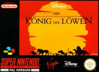 Disney's der König der Löwen Box Art