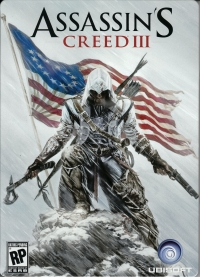 Assassin's Creed III - Steelbook Case Box Art