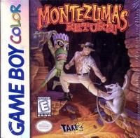 Montezuma's Return! Box Art