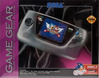 Sega Game Gear - Sonic 2 System Box Art