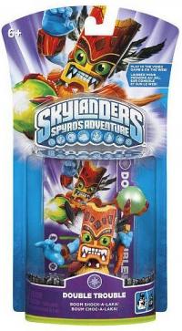 Double Trouble - Skylanders Spyro's Adventure [NA] Box Art