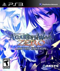 Record of Agarest War Zero - Limited Edition Box Art