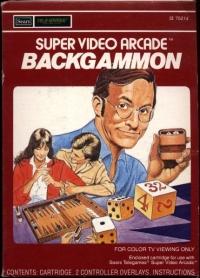Backgammon (Super Video Arcade) Box Art