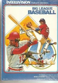 Big League Baseball Box Art