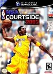 NBA Courtside 2002 Box Art