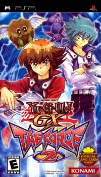 Yu-Gi-Oh! GX Tag Force 2 Box Art