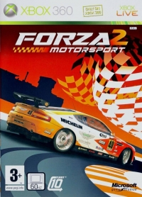 Forza Motorsport 2 Box Art
