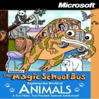 Magic School Bus,The: Explores the World of Animals Box Art