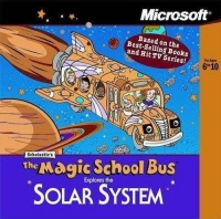 Magic School Bus,The: Explores The Solar System Box Art