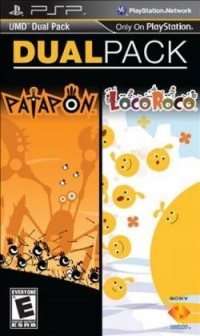 Dual Pack: Patapon and LocoRoco Box Art
