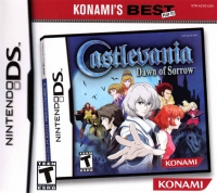 Castlevania: Dawn of Sorrow - Konami's Best Box Art