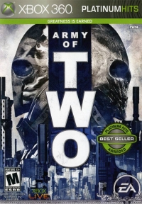 Army of Two - Platinum Hits Box Art