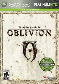 Elder Scrolls IV, The: Oblivion - Platinum Hits Box Art